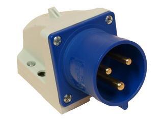 Wtyczka stała IP44 16A 230V 2P+Z PCE