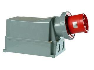 Wtyczka stała IP67 125A 400V 3P+Z+N PCE
