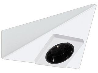 Przewód przyłączeniowy Micro Line podszafkowe trójkątne białe Paulmann