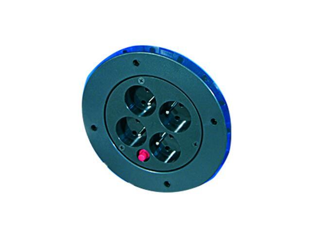 Gniazdo do przedłużaczy SCHUCO 4x220V + termik GDPS Elektro-Plast