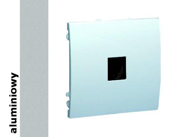 Gniazdo modułowe Classic telef. uniwersalne MTU.01/26 aluminium srebrny Kontakt Simon