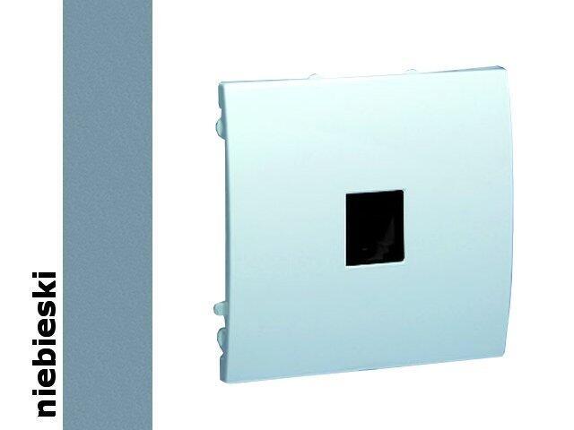 Gniazdo modułowe Classic telef. z ochronnikiem MTO.01/23 niebieski Kontakt Simon