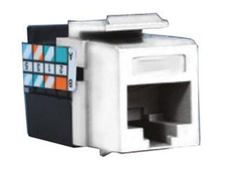 Gniazdo ścienne Simon 82 komputerowe RJ45 kat.5e MOLEX 75540ME-39 biały Kontakt Simon