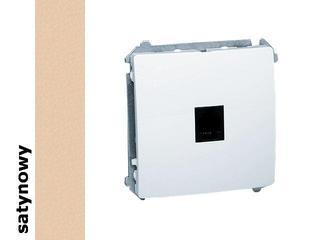 Gniazdo modułowe Basic telef. uniwersalne BMTU.01/29 satynowy Kontakt Simon