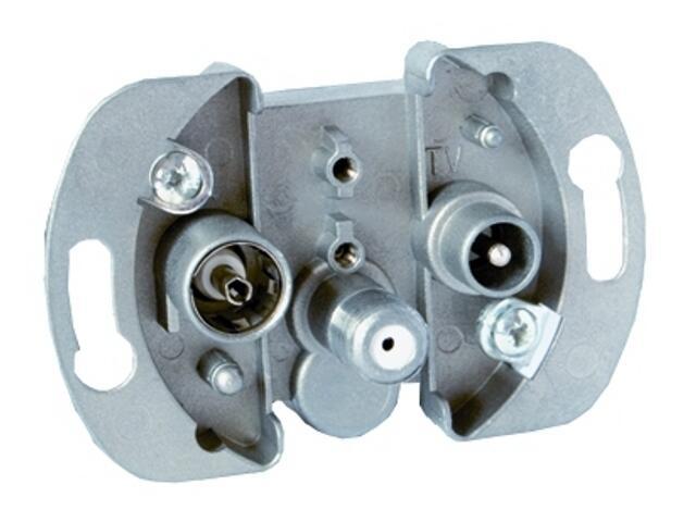 Mechanizm do modułów Simon 82 anten. SAT/SAT/RTV 75496Z-69 SAT3.1/P3 Kontakt Simon