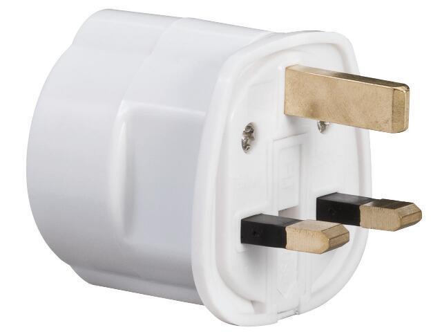 Przewód przyłączeniowy UK 230V biały Paulmann