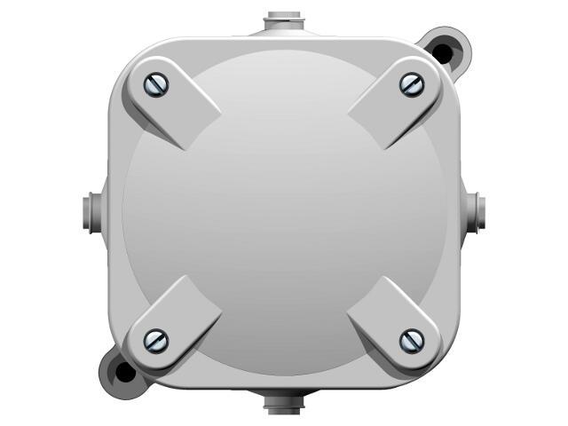 Przewód przyłączeniowy instalacyjny naścienny 4 wyloty 5-torowy IP 44 Ospel