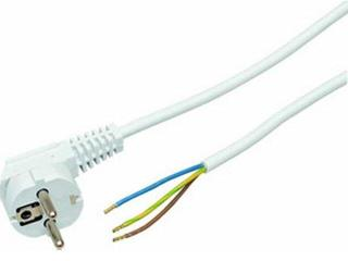 Przewód przyłączeniowy OMY3x1,5 1,6m biała Polmark