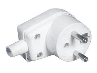 Wtyczka kablowa 16A WB-6 biały Elektro-plast N.
