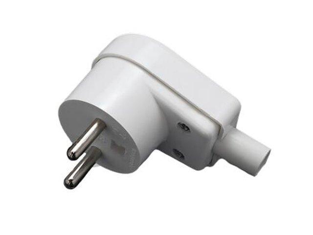 Wtyczka kablowa 2P standard 16A Elgotech