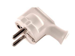 Wtyczka kablowa UNI SCHUKO WT-35 biała Elgotech