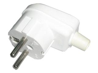 Wtyczka kablowa kątowa z/u WB-4 biały Schneider Electric