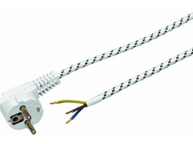 Przewód przyłączeniowy przyłącze w bawełnie 1,8m (Smżo 3x0,75) Polmark