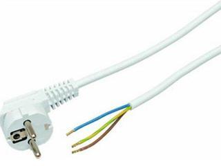 Przewód przyłączeniowy OMY3x1 2,2m biała Polmark