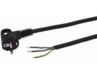 Przewód przyłączeniowy OMY3x1,5 1,9m czarna Polmark