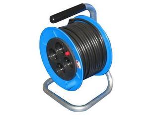 Przedłużacz ogrodowy bębnowy P-M-25 Elektro-Plast