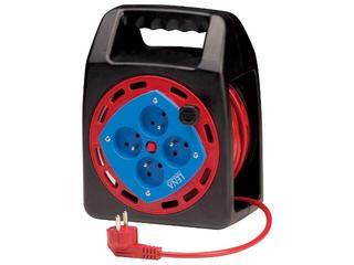 Przedłużacz ogrodowy bębnowy zamknięty 20m 3x1mm 4G 2P+Z Lena Lighting