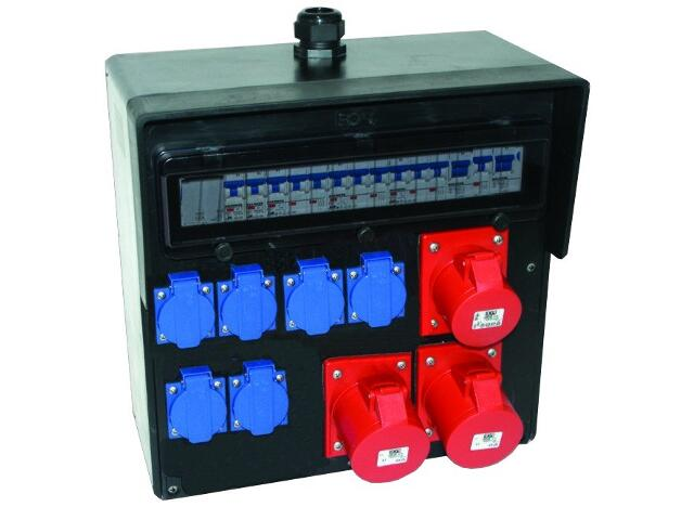 Bytom Rozdzielnia wyposażona wej.Pg29-wyj.32/5xB32 2x16/5x2xB16 6xGSx3xB16 FI30mA PCE