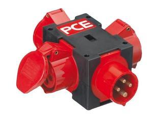 Pieszyce Rozgałęźnik z tworzywa IP44 wejście 16/4-wyjście 3x16/4 PCE