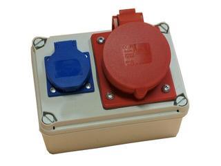 Koło Rozdzielnia wyposażona wejście Pg16-wyjście 16/5 GS PCE