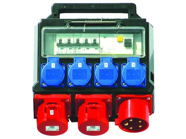 Dzierżoniów Rozdzielnia wyposażona wej.32/5-wyj.2x32/5 4xGSx2xB16 FI30mA PCE