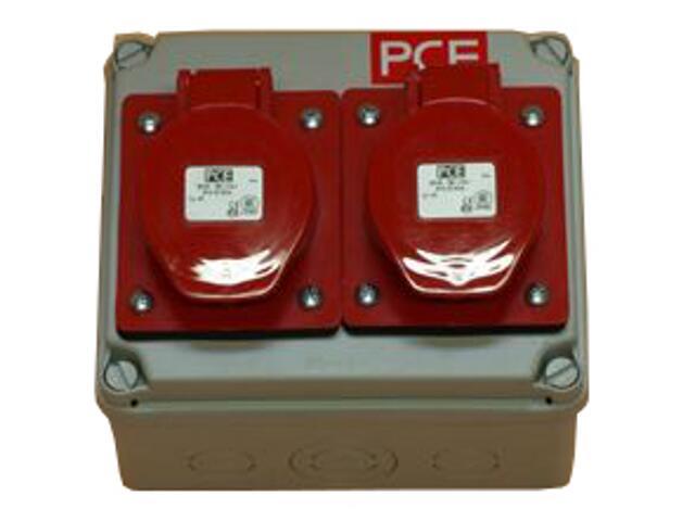 Płock Rozdzielnia wyposażona wejście Pg21-wyjście 2x32/5 PCE