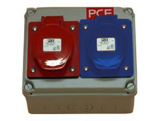 Płock Rozdzielnia wyposażona wejście Pg16 Pg21-wyjście 16/3 32/5 PCE