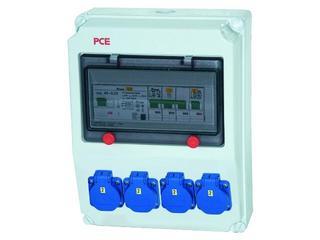 Andrychów Rozdzielnia wyposażona wejście Pg21-wyjście 4xGSx4xB16 PCE