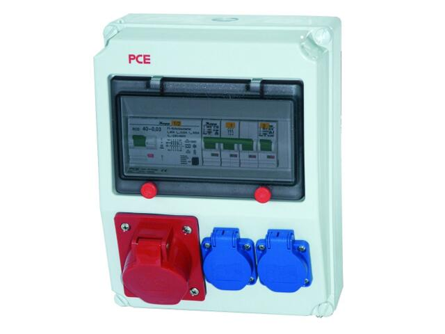 Andrychów Rozdzielnia wyposażona wejście Pg21-wyjście 32/5xB32 2xGSx2xB16 PCE