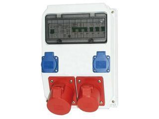 Gniezno Rozdzielnia wyposażona wejście Pg29-wyjście 2x16/5x2xB16 2xGSx2xB16 PCE