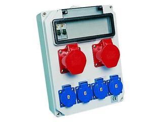 Hel Rozdzielnia wyposażona wejście Pg21-wyjście 2x16/5xB16 4xGSx2xB16 PCE