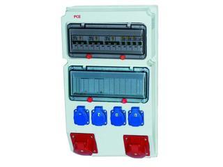 Suwałki Rozdzielnia wyposażona wej.Pg29-wyj.32/5xB32 16/5xB16 4xGSx4xB16 FI30mA PCE