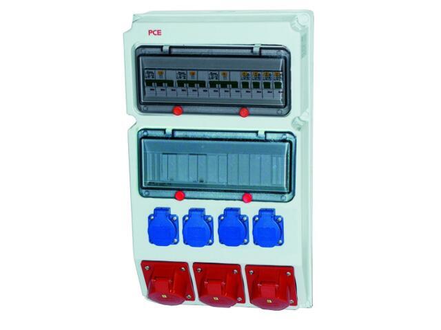 Suwałki Rozdzielnia wyposażona wej.Pg29-wyj.32/5xB32 2x16/5x2xB16 4xGSx4xB16 PCE
