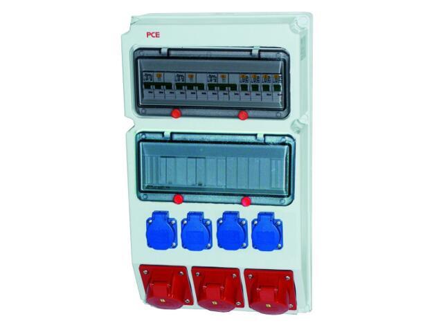 Suwałki Rozdzielnia wyposażona wej.Pg36-wyj.63/5xB63 32/5xB32 16/5xB16 2xGSx2xB16 PCE