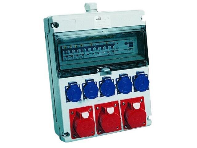 Toruń Rozdzielnia wyposażona wej.Pg29-wyj.3x16/5x3xB16 5xGSx2xB16 FI30mA PCE