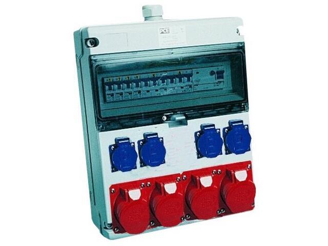 Toruń Rozdzielnia wyposażona wej.Pg29-wyj.2x32/5xB32 2x16/5xB16 4xGSx4xB16 FI30mA PCE
