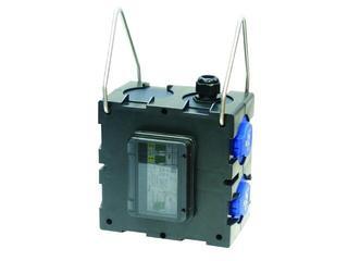 Nysa Rozdzielnia wyposażona 6M wej.PG21-wyj.6xGSx2xC16 FI30mA zaciski wyj. 5x10mm2 PCE