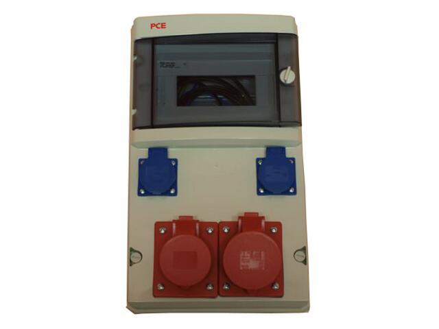 Star Rozdzielnia wyposażona 9M wej.PG29, wyj.2x16/5 2xGS bez zabezpieczeń PCE