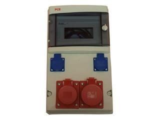 Star Rozdzielnia wyposażona 9M wej.PG29, wyj.2x32/5 2xGS bez zabezpieczeń PCE
