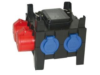 Nysa Rozdzielnia wyposażona wej.2mb H05RN-F 3G2,5, wyj.32/5, 16/5xC16, 2GSx1xC16 PCE