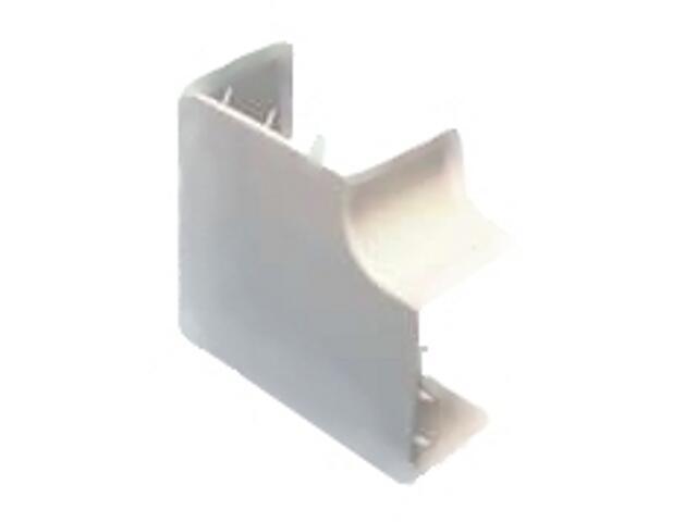 Złączka do kanałów kablowych -łącznik kątowy LK 25/40 biały AKS Zielonka
