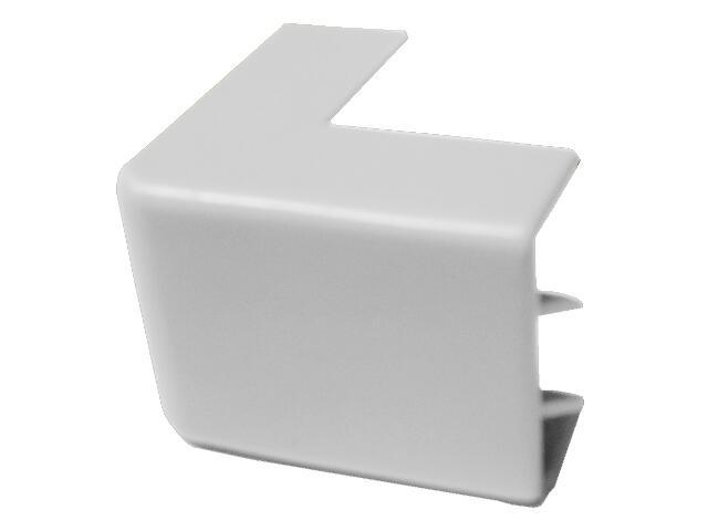 Narożnik do kanałów kablowych zewnętrzny NZ 40/40 biały AKS Zielonka