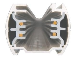Kanał kablowy SCENA TS szynoprzewód 1m biały Brilum
