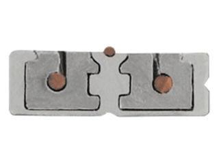 Kanał kablowy TREX TS szynoprzewód 1m srebrny Brilum