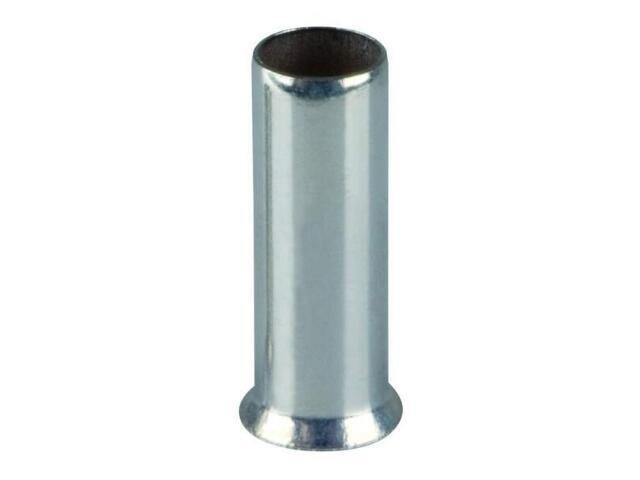 Końcówka kablowa igiełkowa tulejkowa nieizolowana TA 0,75-10 100szt kablowa Erko