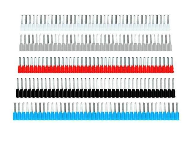 Końcówka kablowa oczkowa tulejkowa izolowana TP 2,5-8X40 10szt kablowa Erko