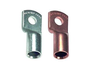 Końcówka kablowa oczkowa tulejkowa miedziana z otworem kontrol. KCS 10-35-K 20szt kablowa Erko
