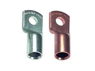 Końcówka kablowa oczkowa tulejkowa miedziana z otworem kontrol. KCS 6-25-K 100szt kablowa Erko