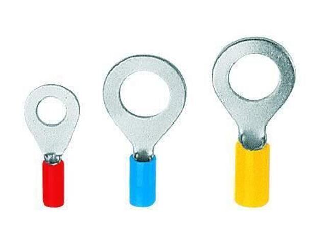 Końcówka kablowa oczkowa KOV 6-2,5-K02 100szt żółty kablowa Erko