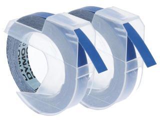 Taśma do wytłaczarek 3D 9mm/2m, 2 rolki, niebieska Dymo